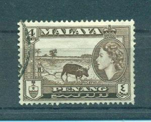 Malaya - Penang sc# 47 used cat value $.25