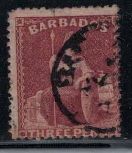 Barbados 1873 38 Used SCV $140.00