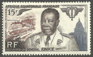 FRENCH EQUATORIAL AFRICA SCOTT C42