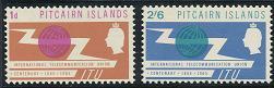 Pitcairn Islands 52-53 MNH (1965)