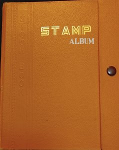 Hardcover Stamp collection album