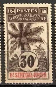 Upper Senegal & Niger #9 Used CV$5.50 Oil Palms