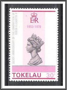 Tokelau #64 Anniversary Coronation QE II MNH