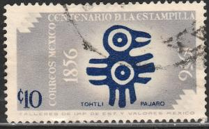 MEXICO 892, 10c Centenary of 1st postage stamps. Used (1084)