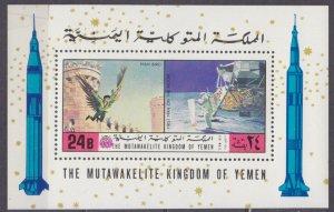 1970 Yemen Kingdom 1173/B224 Icarus / Astronaut on the moon. 12,00 €