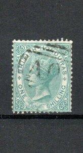British Honduras 1865 1s green FU