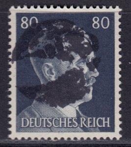 Germany Soviet Zone SBZ - LOCAL BLOSENBERG 80Pf HITLER head - Expertized Richter