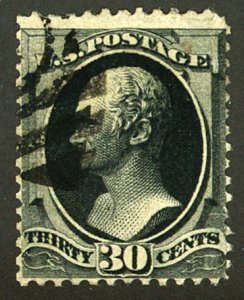 U.S. #154 USED WITH WEISS CERT