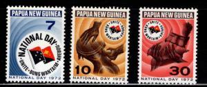 PNG Papua New Guinea Scott 352-354 MNH** set