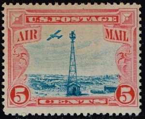 US STAMP #C11 5c Air Mail Stamp 1928 MNH/OG