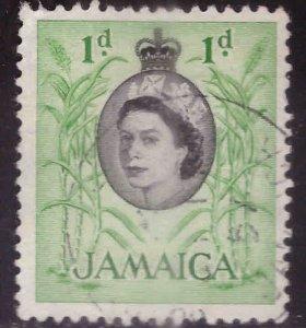 Jamaica Scott 160 Used QE2 stamp