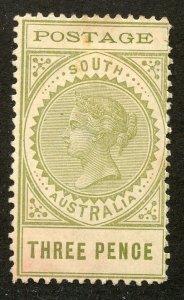 South Australia, Scott #149, Unused, No Gum