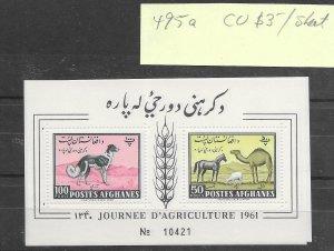 Afghanistan #495a MNH - Sourvenir Sheet - CAT VALUE $3.00ea RANDOM PICK