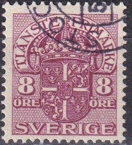 Sweden #O47 F-VF  Used  CV $27.50 (Z6324)