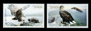 Artsakh Karabakh Armenia 2019 Europe cept Europa Eagle birds of prey 2v MNH