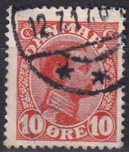 Denmark #100 F-VF Used (V4653)