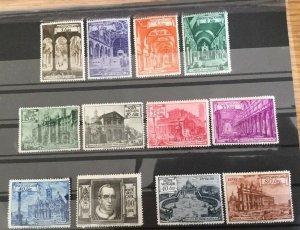 Vatican City Sc# 122-131, E11-E12 mint NH (Mint Never Hinged) MNH CV $109.40