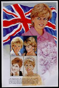 Dominica 2010 MNH Princess Diana, Royalty