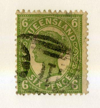 QUEENSLAND 120 USED SCV $3.25 BIN $1.50 ROYALTY