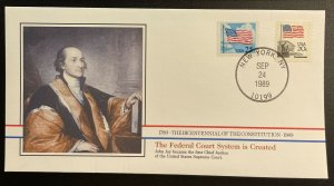 US #2278,1895 On Cover - Bicentennial of Constitution 1787-1987 [BIC72]