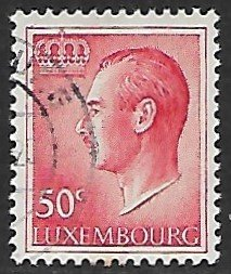Luxembourg # 419 - Grand Duke Jean 50ct - used...(KlGr)