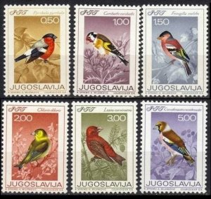1968 Yugoslavia 1274-1279 Songbirds 10,00 €