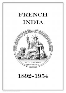 French India 1892-1954 PDF (DIGITAL) STAMP ALBUM PAGES