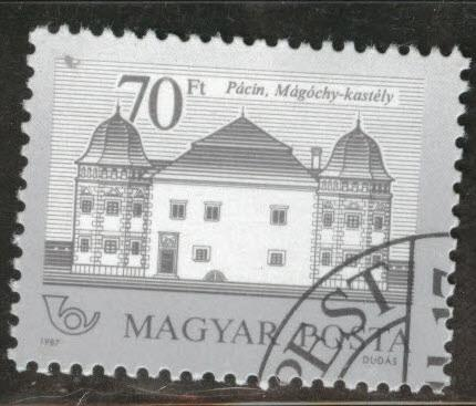HUNGARY Scott 3028 used stamp CV$2.75
