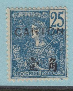 FRANCE OFFICES IN CHINA CANTON 38 MINT HINGED OG * NO FAULTS VERY FINE