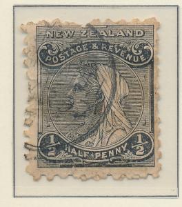 New Zealand Stamp Scott #67A, Used - Free U.S. Shipping, Free Worldwide Shipp...