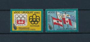 [55122] Uruguay 1975 Olympic games Flags from sheet MNH