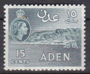 Aden Sc #50a MNH VF