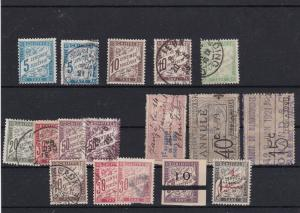 France Postage Due and Revenue Stamps Ref 31737