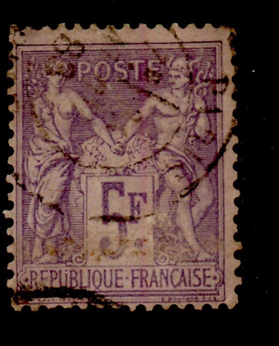 France #96 Used F-VF Cat$70