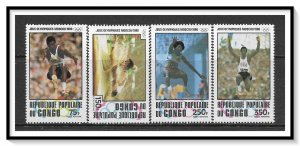 Congo People's Republic #C271-C274 Airmail MNH