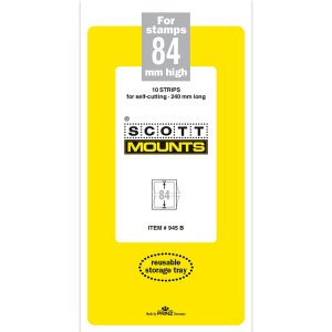Scott Mount 84 x 240 mm  (Scott 945 Black)