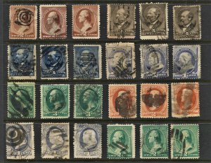 STAMP STATION PERTH -US #24 Early Used Stamps - Unchecked
