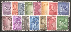 Seychelles SC 157-71 MNH
