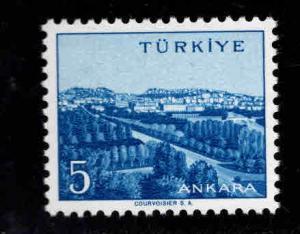 TURKEY Scott 1295 MNH** 26x20.5mm stamp