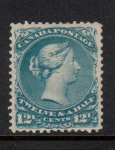 Canada #28 Extra Fine Mint Full Original Gum Hinged **With Certificate**