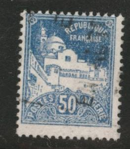 ALGERIA Scott 49 used stamp from 1926-1939 set