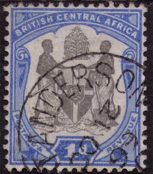 British Central Africa # 43 Used VF Fort Anderson Cat $ 1.50