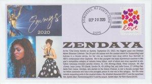 6° Cachets Emmy winner Zendaya Lead Actress in Drama Series in Euphoria