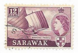 Sarawak #219  12c   Barong Panau  (U)
