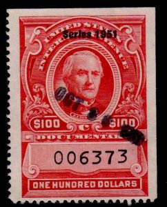 U.S. REV. DATED REDS R583  Used (ID # 66173)