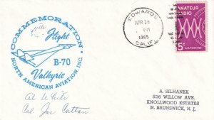 1965, Commemoration of Flt. B-70, Valkyrie, Edwards AFB, CA, See Remark (41932)