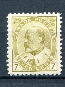 Canada #92    Mint  XF  - Lakeshore Philatelics