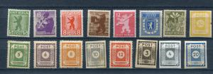 Germany 1945 Soviet Zone  MH 3905