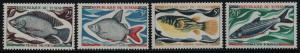 Chad 218-21 MNH Fish