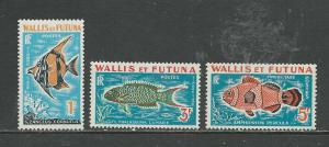 Wallis & Futuna Islands Scott catalogue # J37-J39 Unused Hinged